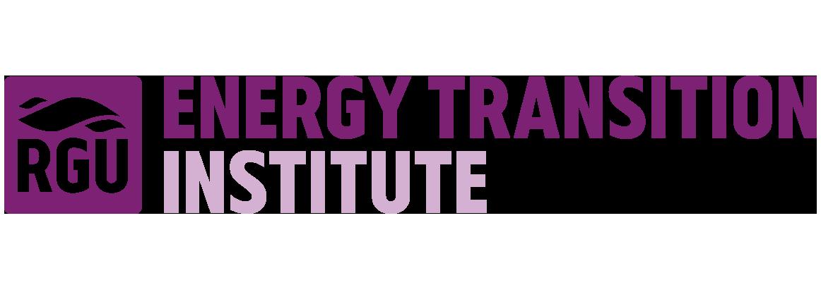 RGU Energy Transition Institute