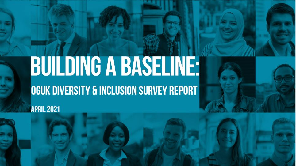 OGUK diversity and inclusion survey report cover